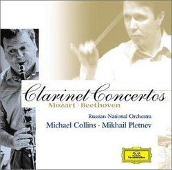 Mozart and Beethoven: Clarinet Concertos