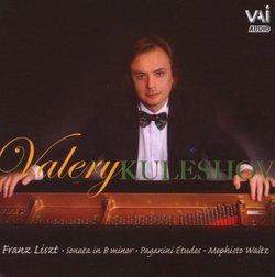 Liszt: Sonata in B minor; Paganini Études; Mephisto Waltz