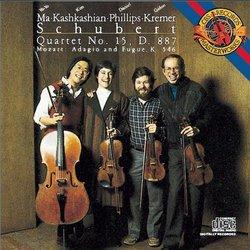 Schubert: Quartet No.15; Mozart: Adagio & Fugue In C
