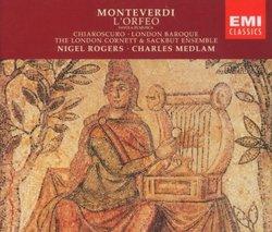 Monteverdi: L'Orfeo / London Baroque - Medlam, Chiaroscuro - Caudle