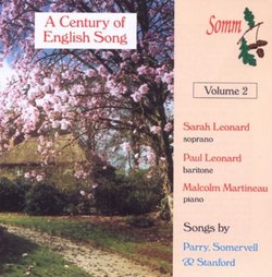 A century of English Song, Vol.2