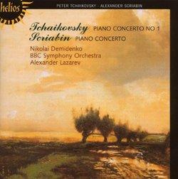 Tchaikovsky: Piano Concerto No.1; Scriabin: Piano Concerto