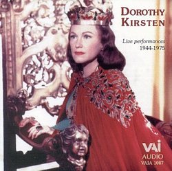 Dorothy Kirsten: Live Performances 1944-1975