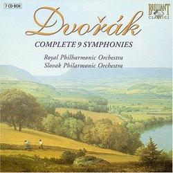 Dvorák Complete 9 Symphonies [Box Set]