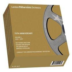 London Philharmonic Orchestra 75th Anniversary, Vol. 1 [Box Set]