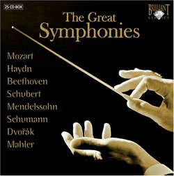 The Great Symphonies [Box Set]