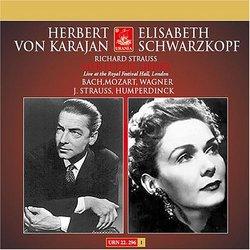 Herbert von Karajan & Elisabeth Schwarzkopf Recordings