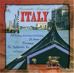 Romantic Songs of Italy
