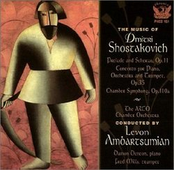 The Music of Dmitri Shostakovich: Prelude & Scherzo/Con Piano/Orchestra/Tpt