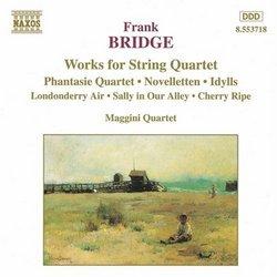 Frank Bridge: Works for String Quartet