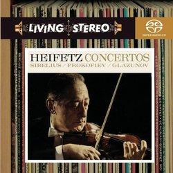 Sibelius, Prokofiev, Glazunov: Violin Concertos [Hybrid SACD]