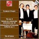 Trio in G Minor, Op 8 / Sta G Minor Cello & Piano