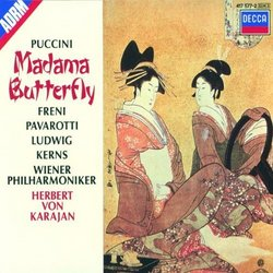 Puccini - Madama Butterfly / Freni, Pavarotti, Ludwig, Wiener Phil., Karajan