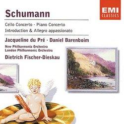 Schumann: Cello Concerto; Piano Concerto; Introduction & Allegro appassionato