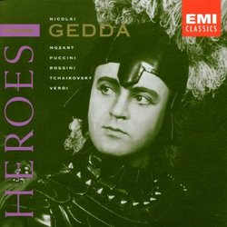 Opera Heroes Series / Nicolai Gedda 18 Works (EMI Classics)