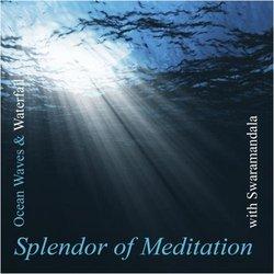 Healing Sounds of Ocean Waves and Waterfall With Swaramandala
