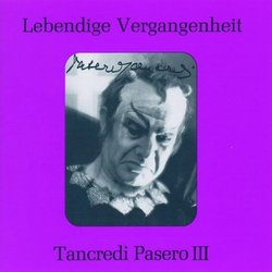 Lebendige Vergangenheit: Tancredi Pasero III
