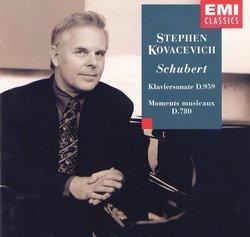 Piano Sonata 20 / Moments Musicaux D.780