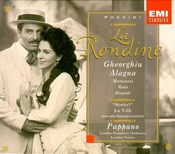Puccini - La Rondine / Gheorghiu · Alagna · Matteuzzi · Mula · Rinaldi · Ciofi · Bacelli · LSO · Pappano