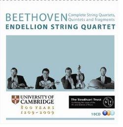 Beethoven: Complete String Quartets, Quintets & Fragments [Box Set]