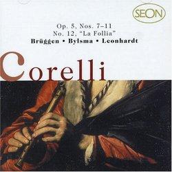 "Corelli: Op. 5, Nos. 7-11, No. 12 ""La Follia"" [Germany]"