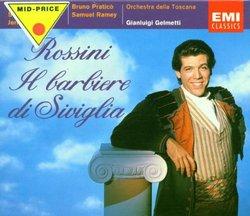 Rossini: Il barbiere di Siviglia / Hampson, Menzter, Hadley, Praticò, Ramey; Gelmetti