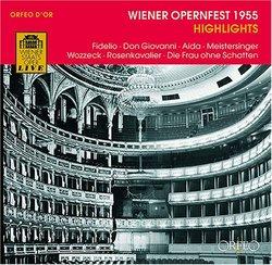 Wiener Opernfest 1955 Highlights