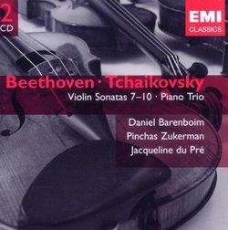 Beethoven: Violin Sonatas Nos. 7-10; Tchaikovsky: Piano Trio