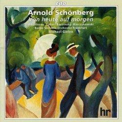 Schoenberg - Von heute auf morgen / Wittlesey · Salter · Barainsky · Karczykowski · Gielen (1997 Straub & Huillet film)