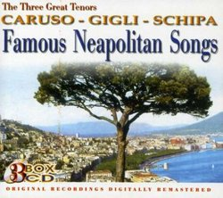Famous Neapolitan Songs (Box Set)