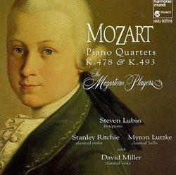 Mozart: Piano Quartets K.478 & K.493 - The Mozartean Players