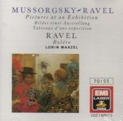 Lorin Maazel conducts Mussorgsky: Pictures At An Exhibition / Ravel: Bolero