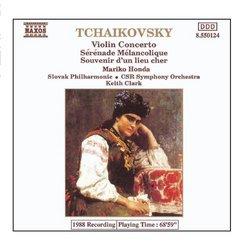 Tchaikovsky: Violin Concerto In D Major / Serenade Melancolique / Souvenir D'Un Lieu Cher