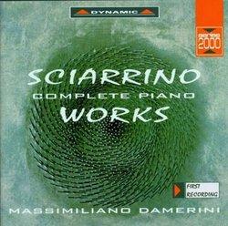 Salvatore Sciarrino: Complete Piano Works 1969-1992