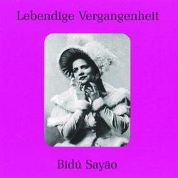 Lebendige Vergangenheit: Bidú Sayão