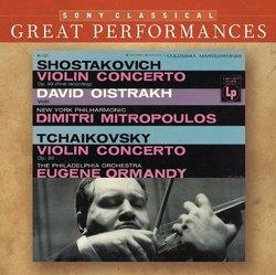 Violin Concertos by Shostakovich & Tchaikovsky