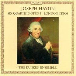 Joseph Haydn: Six Quartets, Op. 5 / London Trios - Barthold Kuijken