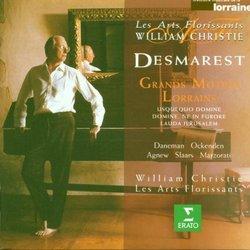 Desmarest - Grands Motets Lorrains / Daneman, Ockenden, Agnew, Slaars, Marzorati, Les Arts Florissants, Christie
