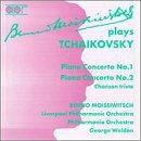 Plays Tchaikovsky