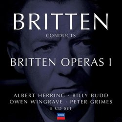 Britten Conducts Britten: Operas 1 [Box Set]