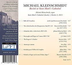 Michael Kleinschmidt: Recital at Saint Mark's Cathedral