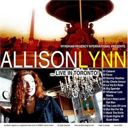 Allison Lynn: Live In Toronto!