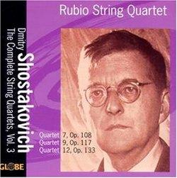 Dmitri Shostakovich: String Quartets Volume 3