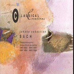 Bach: Harpsichord Concertos BWV 1052, BWV 1061, BWV 1064, BWV 1065
