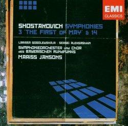 Shostakovich: Symphonies #3 '1st of May' & #14 - Mariss Jansons, Symphonieorchester des Bayerischen Rundfunks