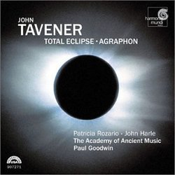 Tavener - Total Eclipse · Agraphon / Rozario · Harle · Robson · Gilchrist · AAM · Goodwin