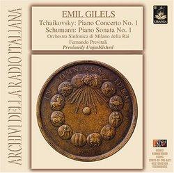 Tchaikovsky: Piano Concerto No. 1; Schumann: Piano Sonata No. 1