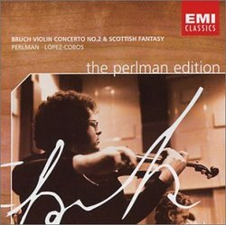 The Perlman Edition - Bruch Violin Concerto No. 2 & Scottish Fantasy