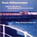 Ã?tude Philharmonique: Music for Solo Violin