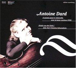 Antoine Dard: 6 sonates pour le violoncello avec la basse continue
